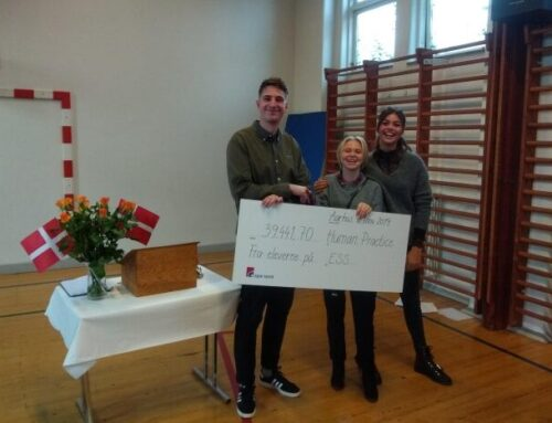 Charity Event at Danish School